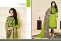 Collar Neck Samaira Salwar Suit Fabric