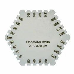 Hexagonal Wet Film Comb
