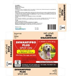 Shwanfipro Plus Spot on for Dogs