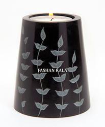 Soapstone Candle Tea Light Stand
