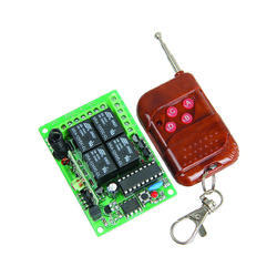 TS 434 - 4 Channel Relay Board With Remote