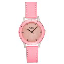Vespl  High Quality Analogue Pink Dial Women's Watch