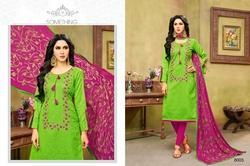 Round Neck Havya Salwar Suit Fabric