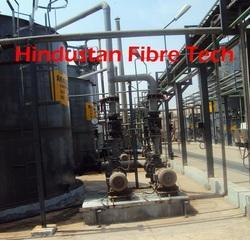 FRP Pipes Erection