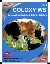 Doxycycline Hyclate/Colistin Sulphate
