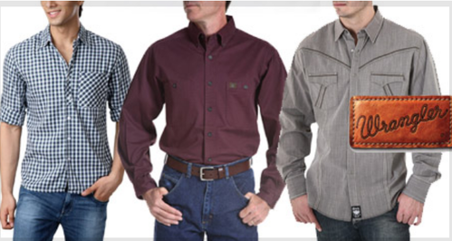 3ff215f15c4 Men Shirts - Wrangler Shirts Retailer from Chennai
