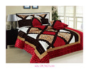 Vanora Quilt & Comforter (Rosepetal)
