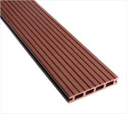 WPC Exterior Floor Decking (Groove Finish) - Chocolate
