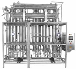 Pharmaceutical Multi Column Distillation Plant