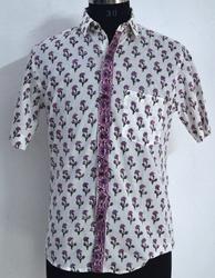 Mens Floral Printed Shirt