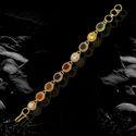 Navratan Bracelet Golden Plated For men and women