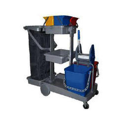 Large Janitor Cart
