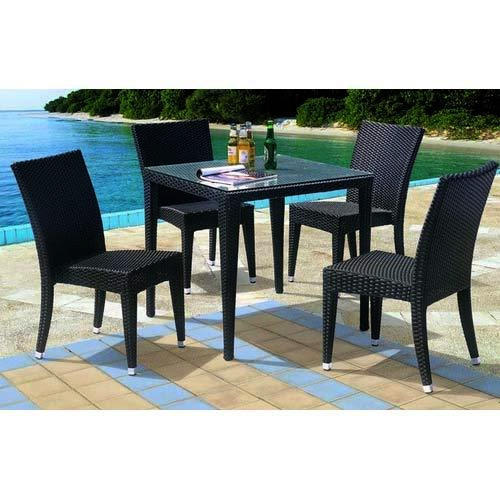 dining wicker set manufacturer from new delhi