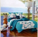 Cassa Green Rosepetal Bed Sheet