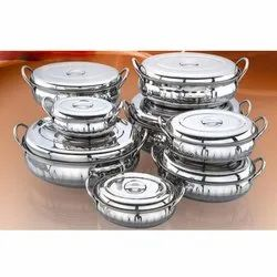 Designer Oval Belly Serving Dishes Set