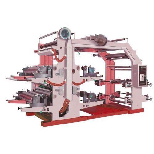 Flexographic Printing Machines 6 Colour Flexo Printing