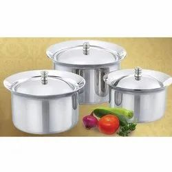 Stainless Steel Adak Cooker Container Set