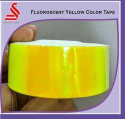Colour Metalized Iridescent Yellow Tapes