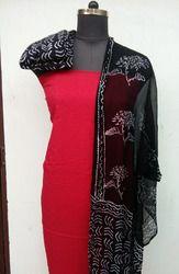 Chiffon Dupatta Suit Set