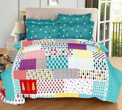 Always Plus Cotton Multi Desing Double Bedsheet