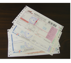 Courier Receipts