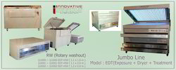 Jumbo line Photopolymer Plate Making Machine - 2002 RW
