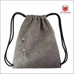 Stylish drawstring backpack bag