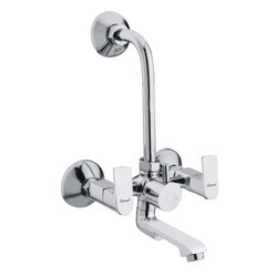 Wall Mixer Telephonic with L-Bend