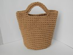 Cord Handle Jute Hand Bags