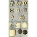 Handicrafts Horn Button