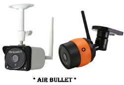 Wireless CCTV Camera Bullet Security IP Cam