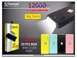 12000MAH POWER BANK BIG TORCH
