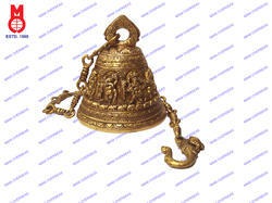 Temple Bell With 8 Style Dancing Ganesh