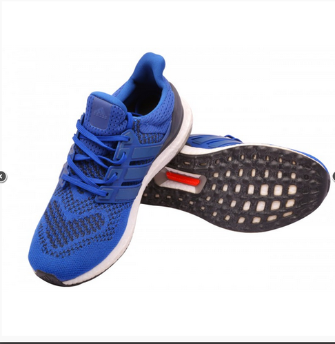 Men Adidas Ultra Boost Shoes Blue, Rs