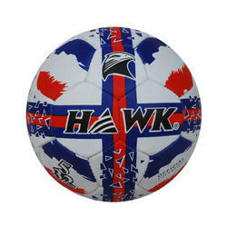 Rubberized Hawk W/b/r Soccer Ball