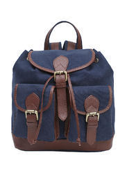 Canvas Bag pack Blue