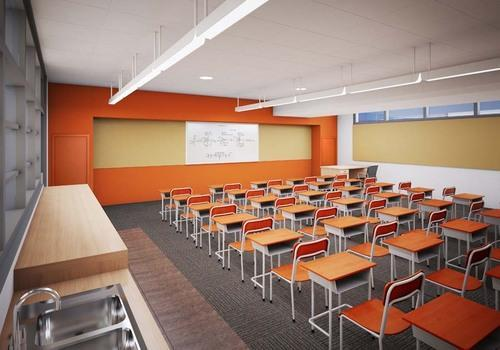 Lovely School Interior Designing Services