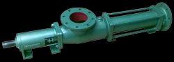 Principle for Progressive Cavity Single Screw Pumps