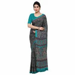 Fashionable Crepe Silk Saree