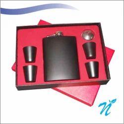 Hip Flask Gift Set