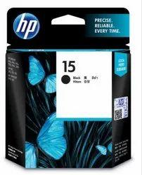 Hp 15 Black Original Ink Cartridge (C6615DA)