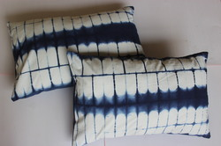 Shibori Print Pillow Cover