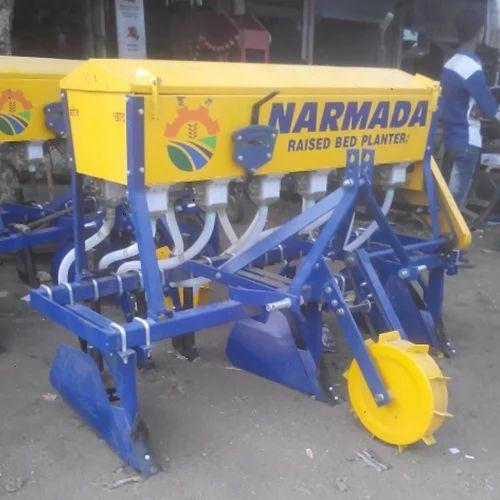 Narmada Raised Bed Planter At Rs 84000 Piece ब ड क ल ए प ल टर ब ड प ल टर Vishwakarma Agriculture Eng Works Bareli Id 11731592055