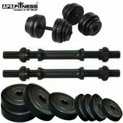 655cb4c7728 APS 100 KG pvc plates HOME GYM SET and APS 50 KG PVC Plates HOME GYM ...
