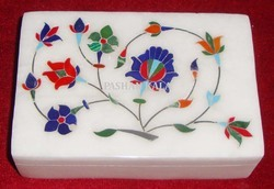 Inlay Marble Stone Box