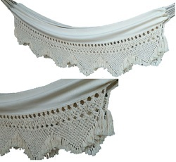 Hand Woven Cotton Fabric Hammocks