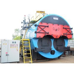 Twin Furnace Steam Boiler