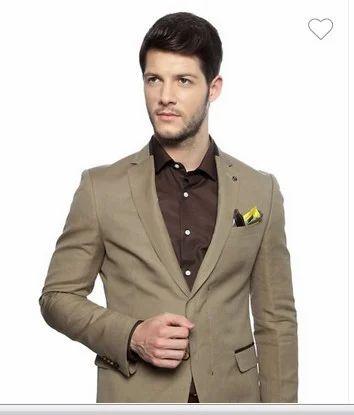 8537f9d0d75 Men s Suits And Blazers - Van Heusen Beige Blazer VHBZ315M04376 ...
