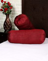 Solid Polydupion Yarn Dyed Cylinderical Bolster Rolls Covers