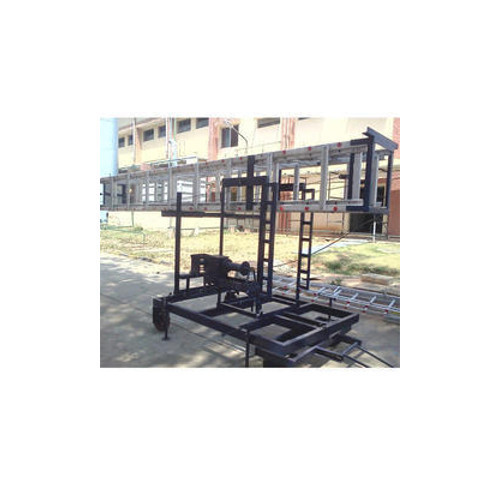 Till Table Telescopic Tower Ladder (Square)